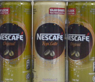 Coffee Ready To Drink Cans