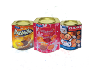 Biscuits In Small Tins (ASSORTMENT & OTHERS)